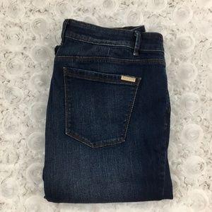 WHBM   The Boot Plain Pocket Jeans